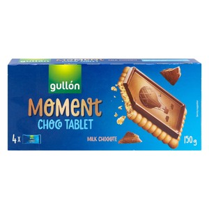 Gullon Moment Choco Tablet 150g