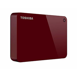 Toshiba Hard Disk Canvio Advance HDTC920 2TB Red