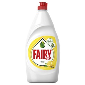 Fairy Lemon Hand Dishwashing Liquid 750ml