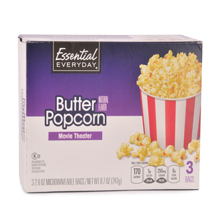 Essential Everyday Butter Popcorn 247g