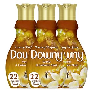 Downy Perfume Collection Concentrate Fabric Softener Feel Luxurious 880ml 2+1