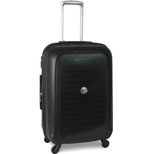 Delsey Tasman 4 Wheel Hard Trolley 55cm Black