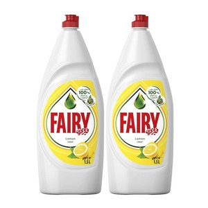 Fairy Dish Washing Liquid Lemon 2 x 1.5Litre