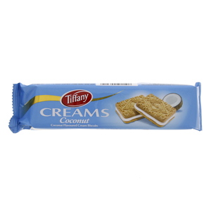 Tiffany Creams Coconut Flavoured Cream Biscuit 90g