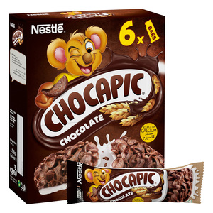 Nestle Chocapic Chocolate Breakfast Cereal Bar 6 x 25g