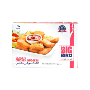 Big Bird Classic Chicken Nuggets 220g