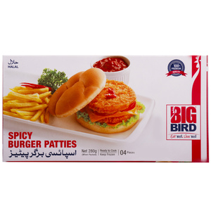 Big Bird Spicy Burger Patties 280g