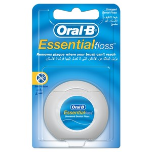 Oral-B Essential Floss Unwaxed 50m