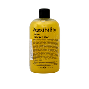Possibility Lemon Cheesecake Shower Gel 525ml