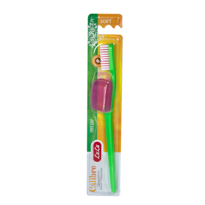 Lulu Toothbrush Calibre Soft 1pc Assorted Colour