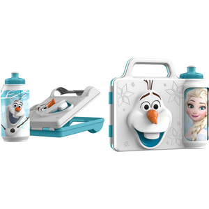 Frozen 3D Water Bottle + Lunch Box 55835