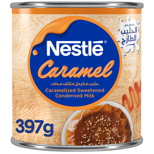 Nestle Sweetened Condensed Milk Caramel Flavor 397g