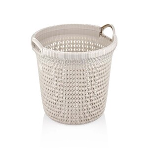 Line Rio Knit Laundry Basket 8034 35Ltr Assorted Colors