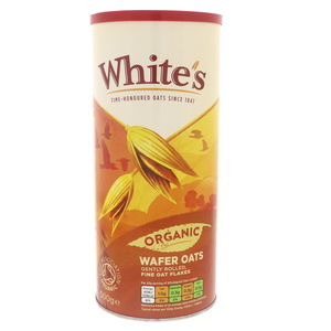 Whites Organic Wafer Oats 500g