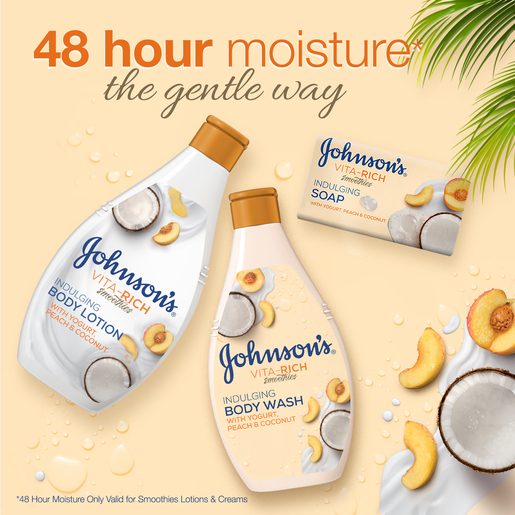 Johnson's Body Wash Vita-Rich Smoothies Indulging 250ml