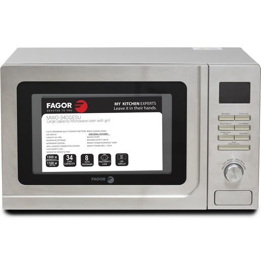 Fagor Microwave Oven With Grill MWO34DG 34Ltr