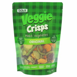 Dj & A Vaggie Crisps Sweet Potato Medley Original 90g