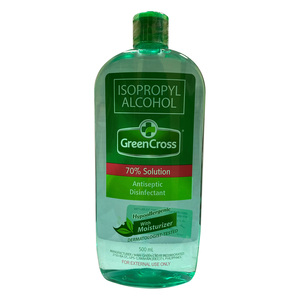 Green Cross Antiseptic Disinfectant 70% Isopropyl Alcohol 500ml