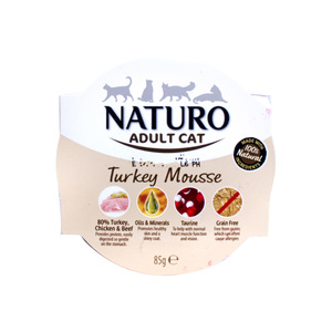 Naturo Turkey Mousse For Adult Cat 85g