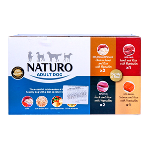 Naturo Adult Dog The Essential Mix for Healthy Dog 6 x 400g