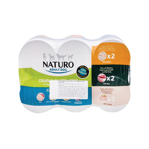 Naturo Adult Dog Grain & Gluten Free 6 x 390g