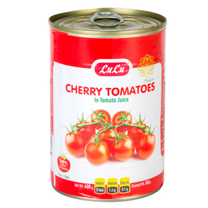 Lulu Cherry Tomatoes In Tomato Juice 400g