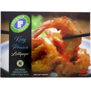 Freshly Food King Prawn Lollipops 200g