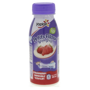 Yoplait Petits Filous Strawberry Drinkable Youghurt 100ml