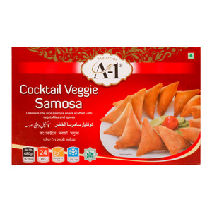 A-1 Cocktail Veggie Samosa 480g
