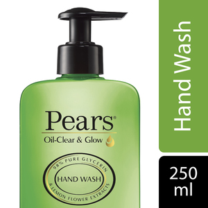 Pears Oil Clear & Glow Hand Wash with Lemon Flower Extracts 250ml