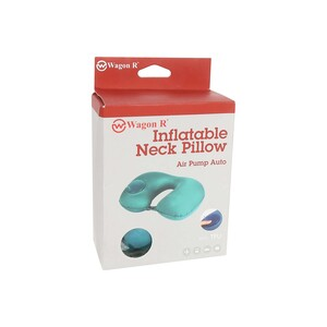 Wagon R Inflatable Neck Pillow With Air Pump TC156 Assorted