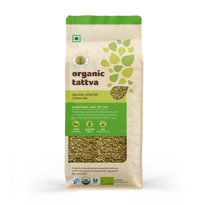 Organic Tattva Organic Roasted Chana Dal 500g