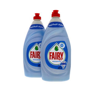 Fairy Antibacterial Dishwashing Liquid 2 x 800ml