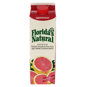 Floridas Natural Pure Ruby Red Grape Fruit Juice 900ml
