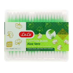Lulu Aloevera Cotton Buds 200Pcs