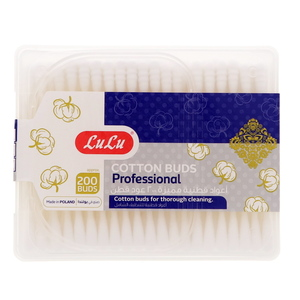 Lulu Professional Cotton Buds 200Pcs