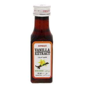 Symega Vanilla Extract With Seeds 40ml