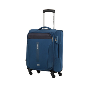 American Tourister Madison 4 Wheel Soft Trolley 68cm Blue
