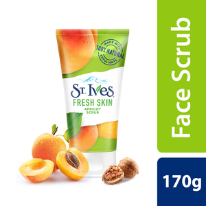 St. Ives Fresh Skin Apricot Face Scrub for Glowing Skin 170g