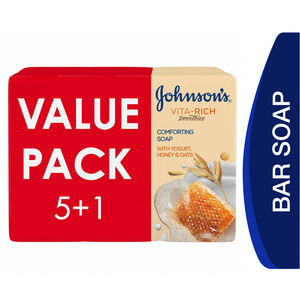 Johnson's Body Soap Vita-Rich Smoothies Comforting 6 x 125g