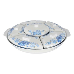Melamine Party Set LUXURY ROSE 17.5inch
