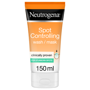Neutrogena Facial Wash Visibly Clear 2-in-1 Wash Mask 150ml