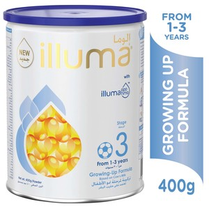Illuma Growing Up Formula Stage 3 From 1-3 Years 400g