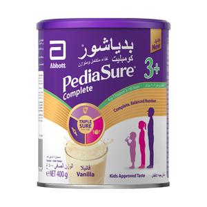 Pediasure Complete And Balanced Nutrition Vanilla Powder  3 +  3-10 Years 400g