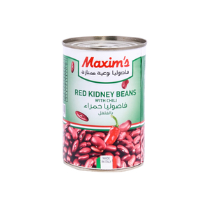 Maxim's Red Kidney Beans with Chili 400g