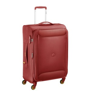 Delsey Chartreuse 4Wheel Soft Trolley 81cm Red