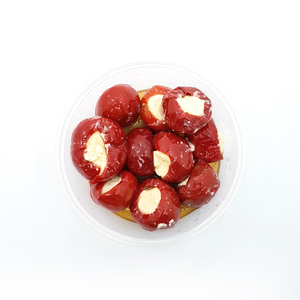 Turkish Stuffed Cherry Pepper Cheese 250g Approx. Weight