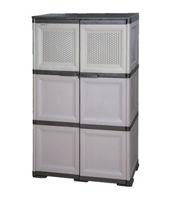 Aristo Plastic Cabinet 3Layer Assorted Colors