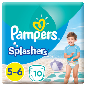 Pampers Splashers Swimming Pants, Size 5-6, >14 kg, 10 Count