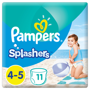 Pampers Splashers Swimming Pants, Size 4-5, 9-15 kg, 11 Count